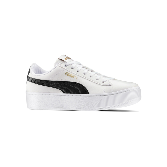 Women's shoes puma, Blanc, 504-1704 - 13