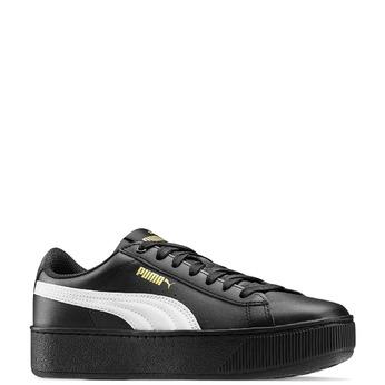 Women's shoes puma, Noir, 504-6704 - 13