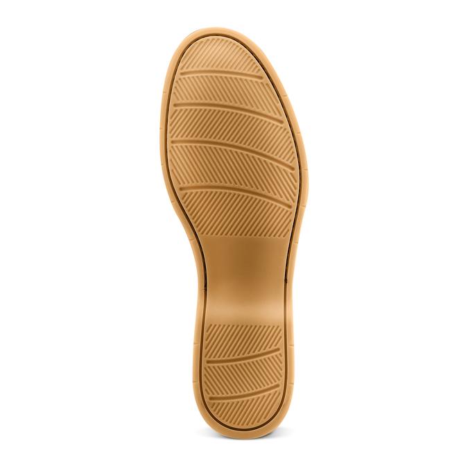 Men's shoes bata, Jaune, 853-8143 - 19