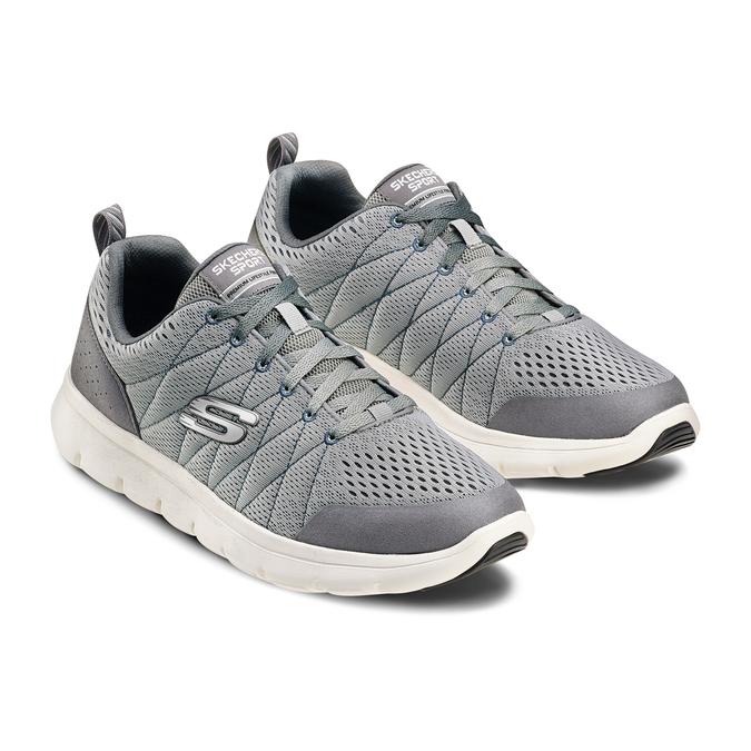 Men's shoes, Gris, 809-2806 - 16