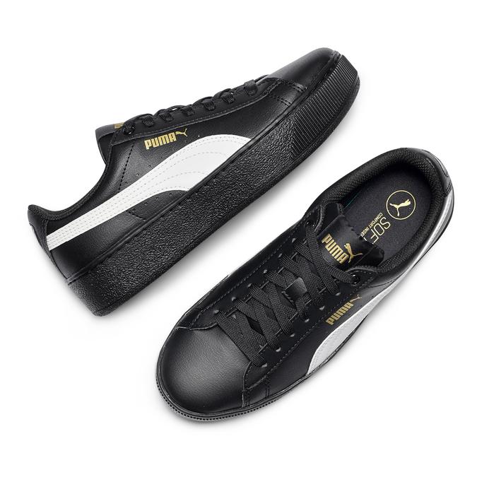 Women's shoes puma, Noir, 504-6704 - 26