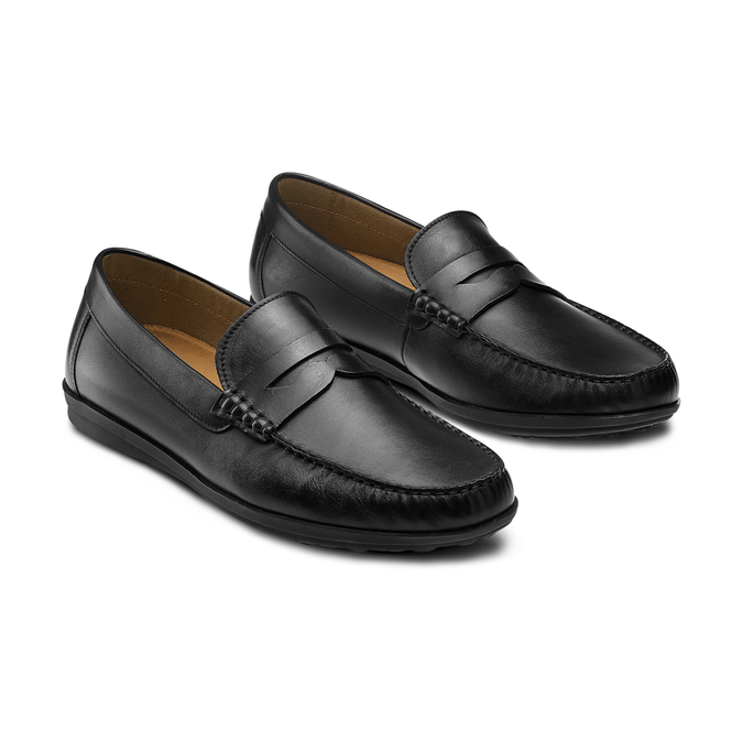 Men's shoes flexible, Noir, 854-6127 - 16