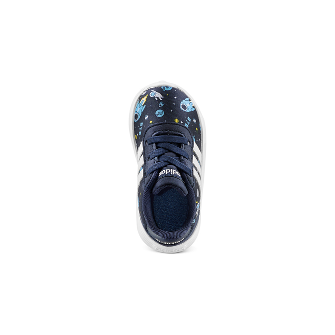 Childrens shoes adidas, Bleu, 109-9388 - 17