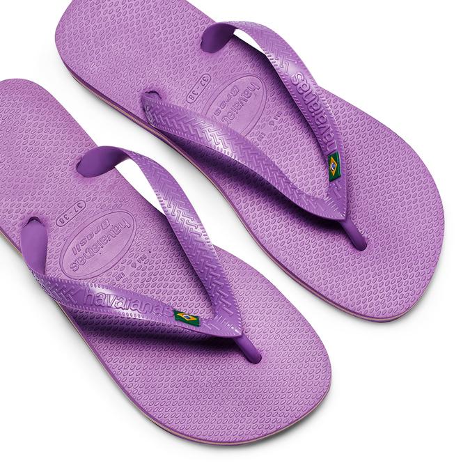 Women's shoes havaianas, Bleu, 572-9177 - 26