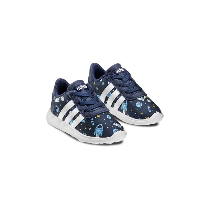 Childrens shoes adidas, Bleu, 109-9388 - 16