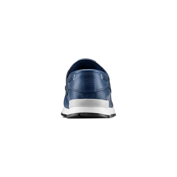 Men's shoes bata, Bleu, 844-9399 - 15
