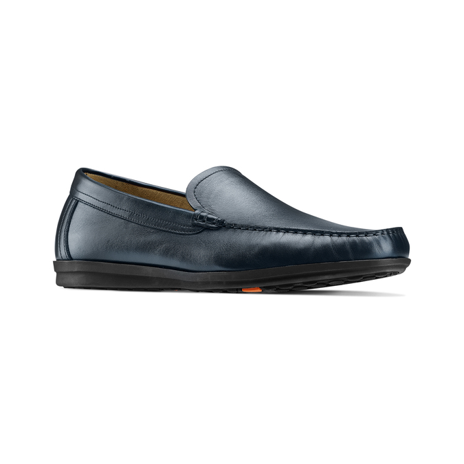 Men's shoes flexible, Bleu, 854-9128 - 13