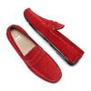 Mocassin en cuir bata, Rouge, 853-5180 - 26