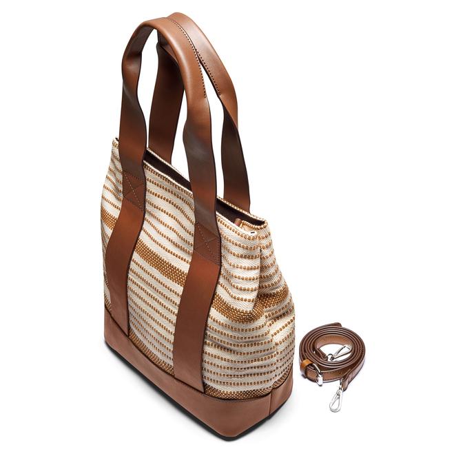 Bag bata, Blanc, 969-1301 - 17