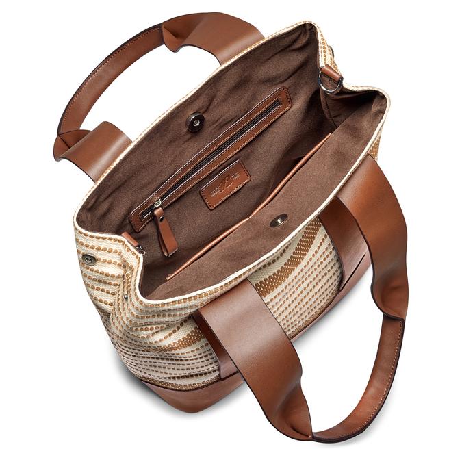 Bag bata, Blanc, 969-1301 - 16