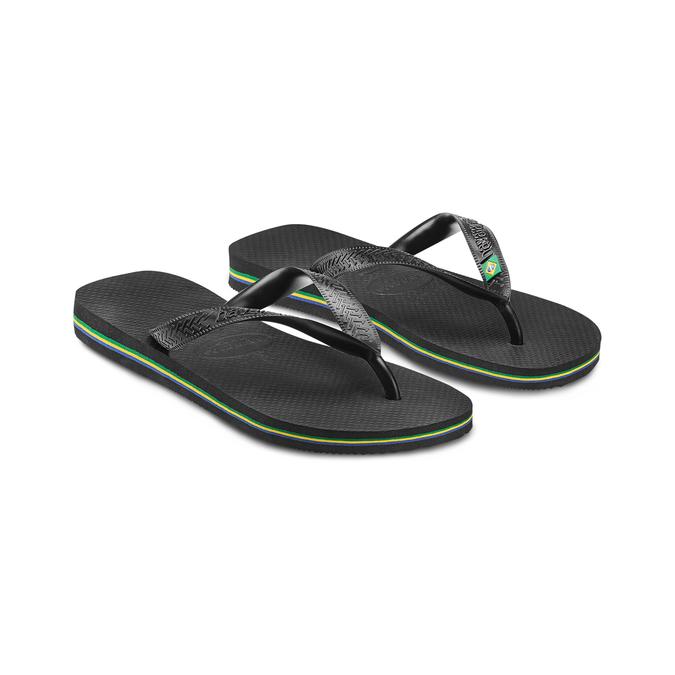 Women's shoes havaianas, Noir, 572-6177 - 16