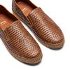 Men's shoes bata, Brun, 851-3187 - 26