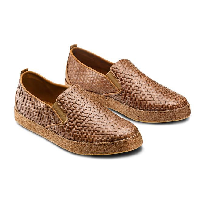 Men's shoes bata, Brun, 851-3187 - 16