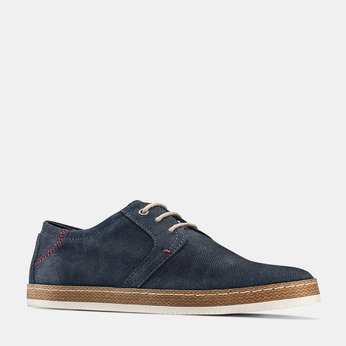 Men's shoes bata, Bleu, 853-9201 - 13