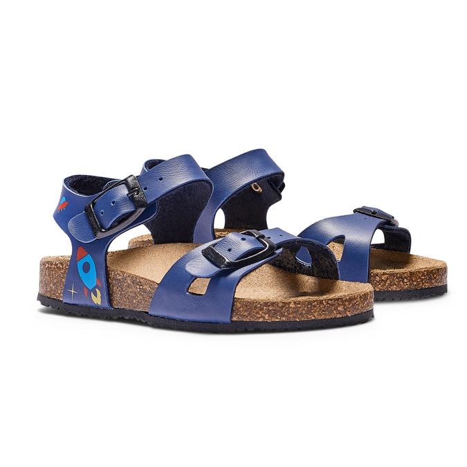 Childrens shoes mini-b, Bleu, 261-9210 - 26