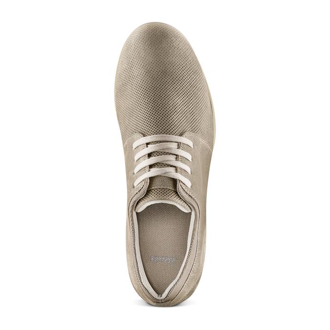 Men's shoes bata, Gris, 843-2134 - 17