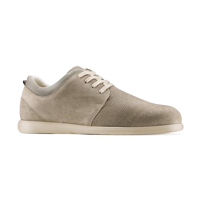 Men's shoes bata, Gris, 843-2134 - 13