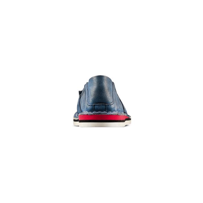Women's shoes bata, Bleu, 514-9205 - 15