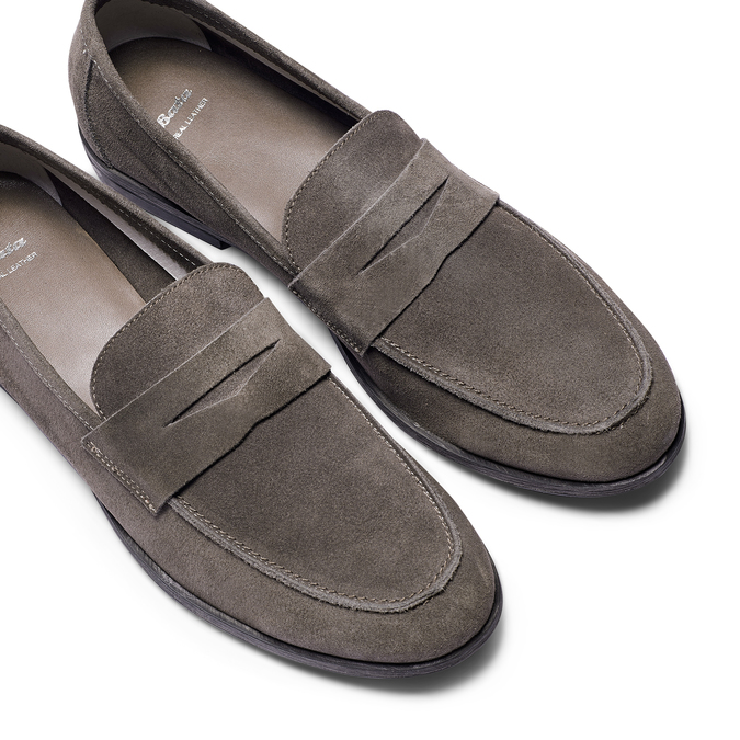 Men's shoes bata, Gris, 853-2129 - 26