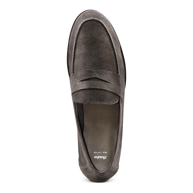 Men's shoes bata, Gris, 853-2129 - 17