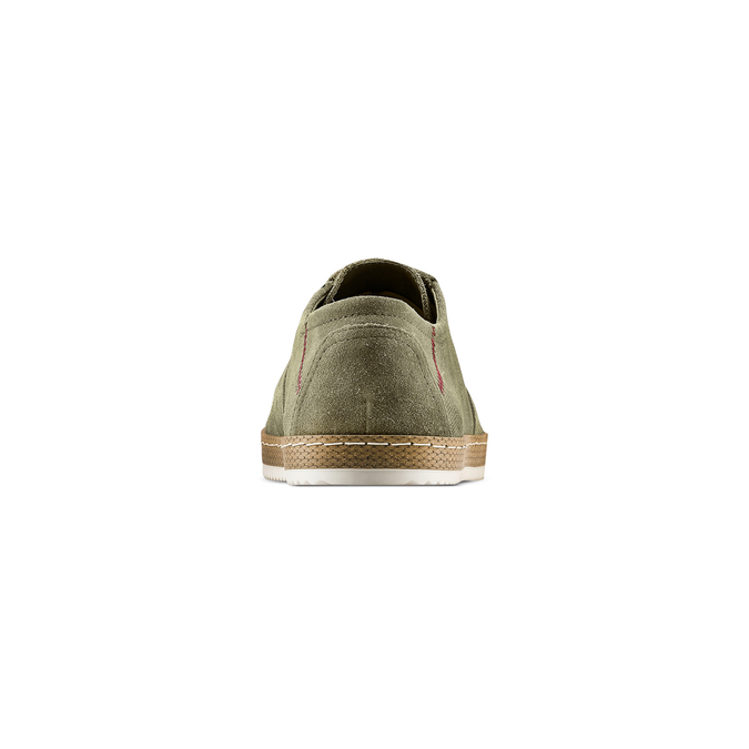 Men's shoes bata, Vert, 853-7201 - 15