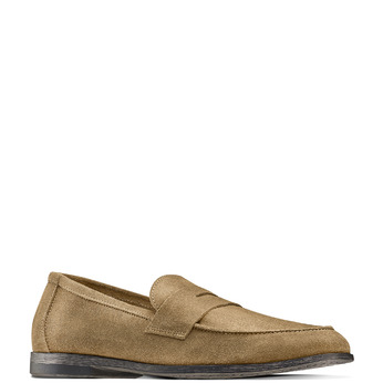 Men's shoes bata, Jaune, 853-8129 - 13