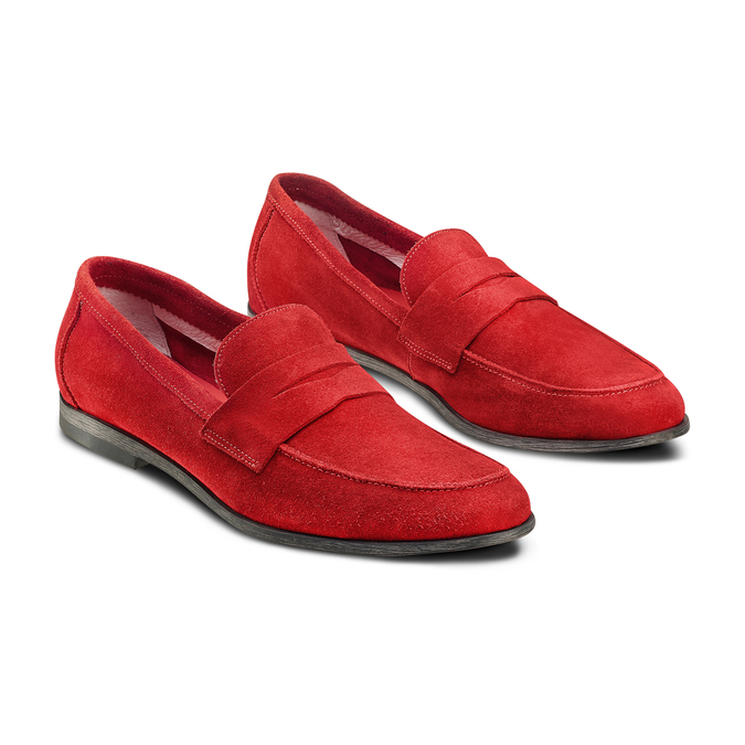 Men's shoes bata, Rouge, 853-5129 - 16