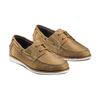 Men's shoes bata, Jaune, 854-8142 - 16