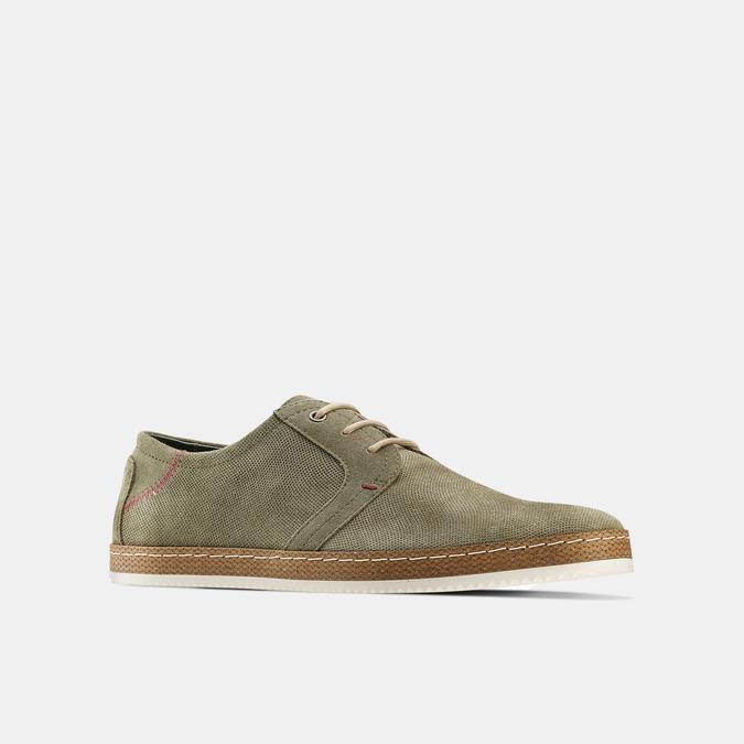 Men's shoes bata, Vert, 853-7201 - 13