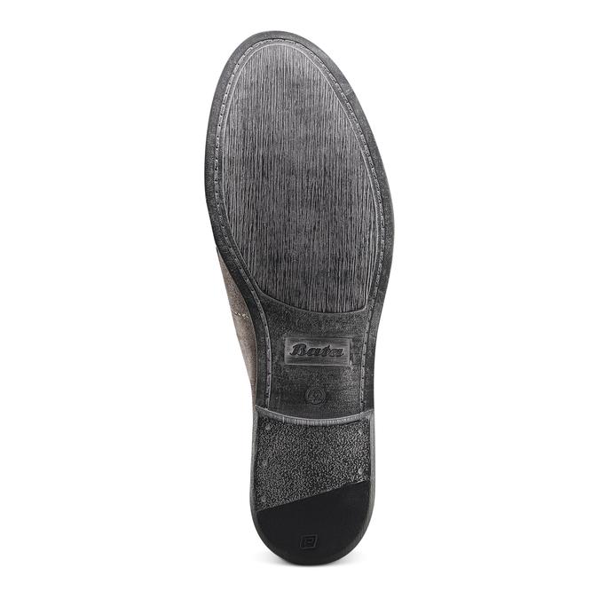 Men's shoes bata, Gris, 853-2129 - 19