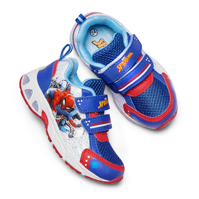 Childrens shoes spiderman, Bleu, 219-9103 - 26