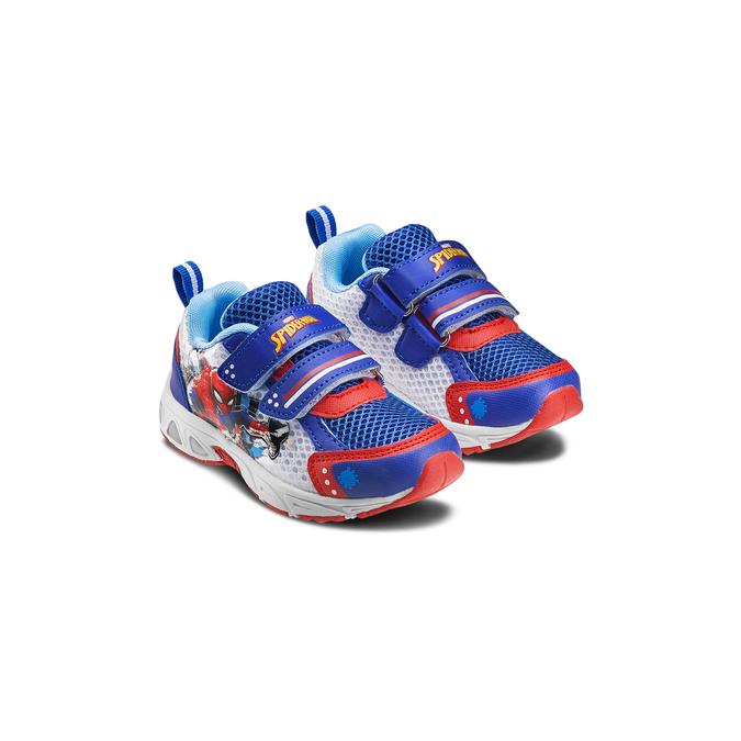 Childrens shoes spiderman, Bleu, 219-9103 - 16