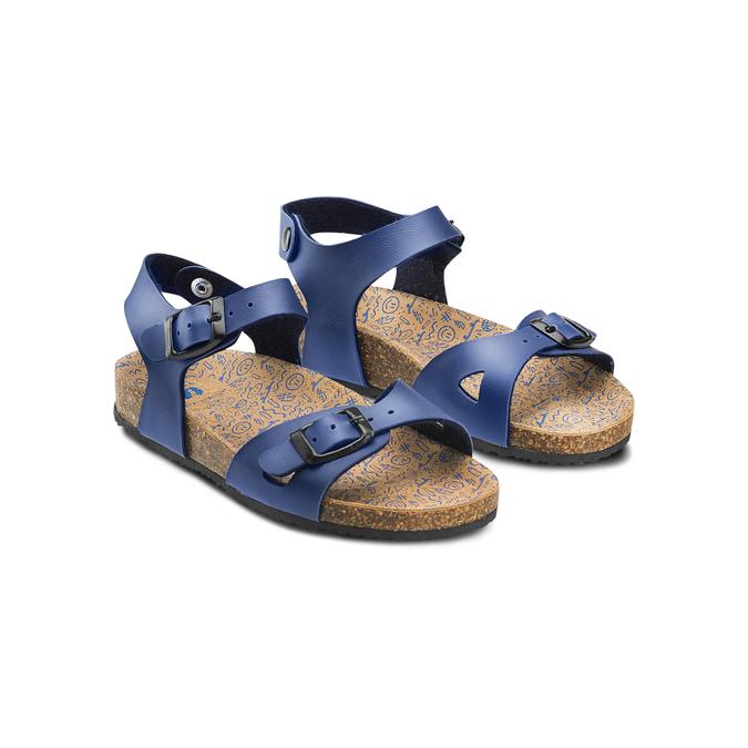 Childrens shoes mini-b, Bleu, 361-9254 - 16