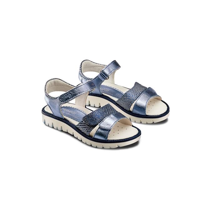 Childrens shoes primigi, Bleu, 364-9115 - 16