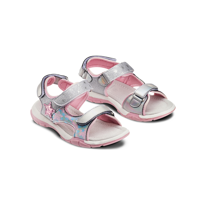 Childrens shoes mini-b, Gris, 361-2238 - 16