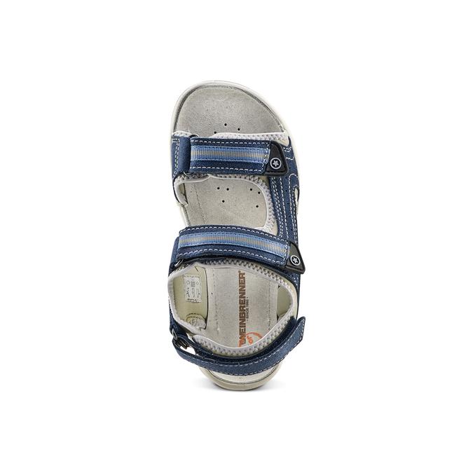Childrens shoes weinbrenner-junior, Bleu, 463-9102 - 17