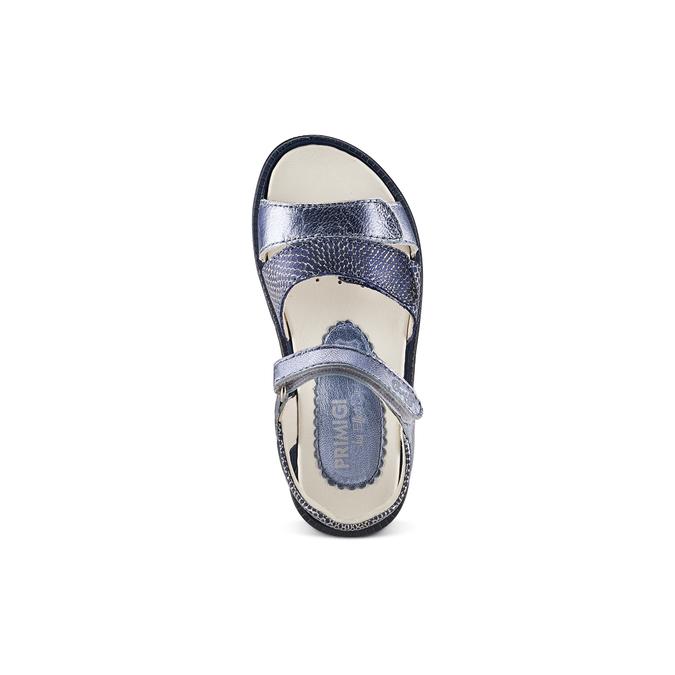 Childrens shoes primigi, Bleu, 364-9115 - 17