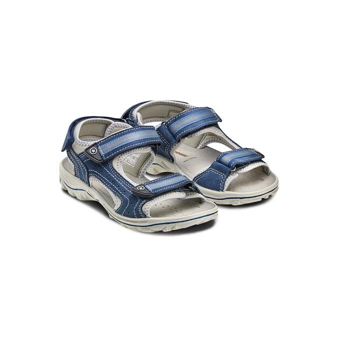 Childrens shoes weinbrenner-junior, Bleu, 463-9102 - 16