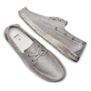 Men's shoes bata, Gris, 859-2198 - 26