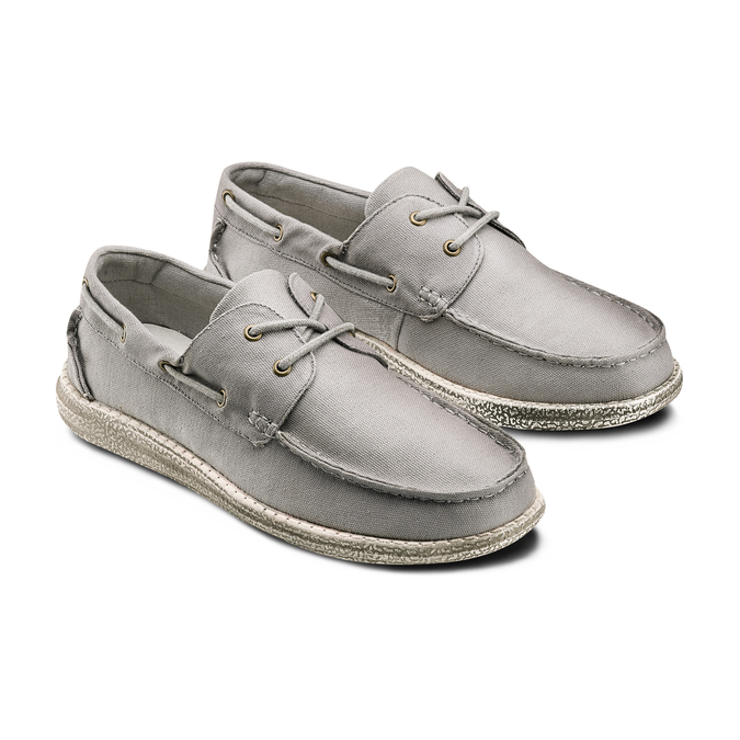 Men's shoes bata, Gris, 859-2198 - 16