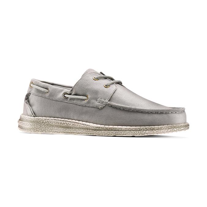 Men's shoes bata, Gris, 859-2198 - 13