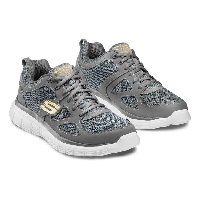 Men's shoes, Gris, 809-2805 - 16
