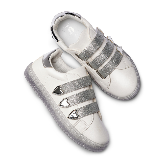 CHILDRENS SHOES mini-b, Blanc, 321-1401 - 26