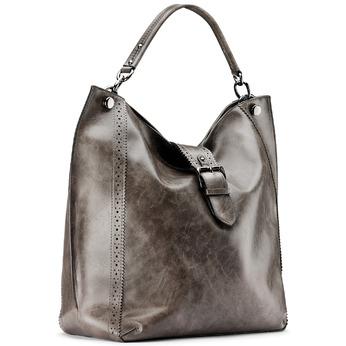 Bag bata, Gris, 961-2297 - 13