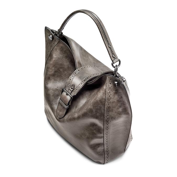 Bag bata, Gris, 961-2297 - 17