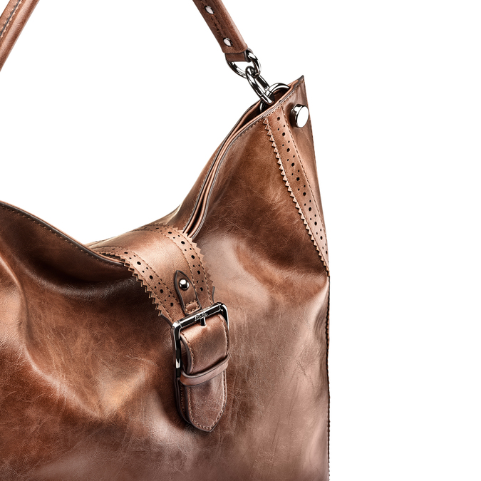 Bag bata, Brun, 961-4297 - 15