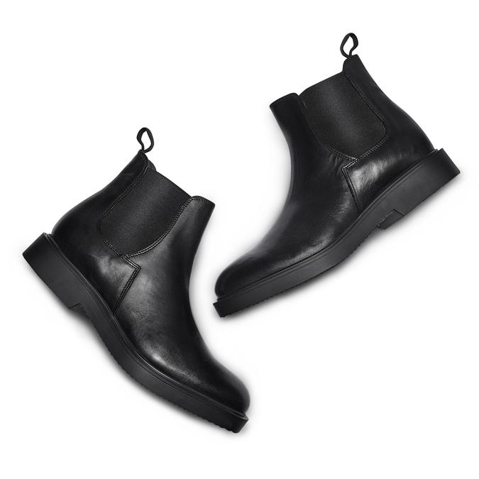Men's shoes bata, Noir, 894-6308 - 26