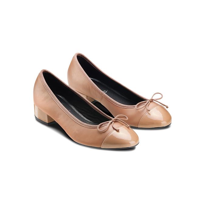 Women's shoes bata, Jaune, 524-8191 - 16