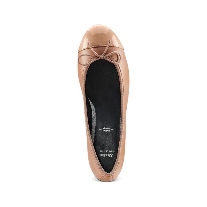Women's shoes bata, Jaune, 524-8191 - 17