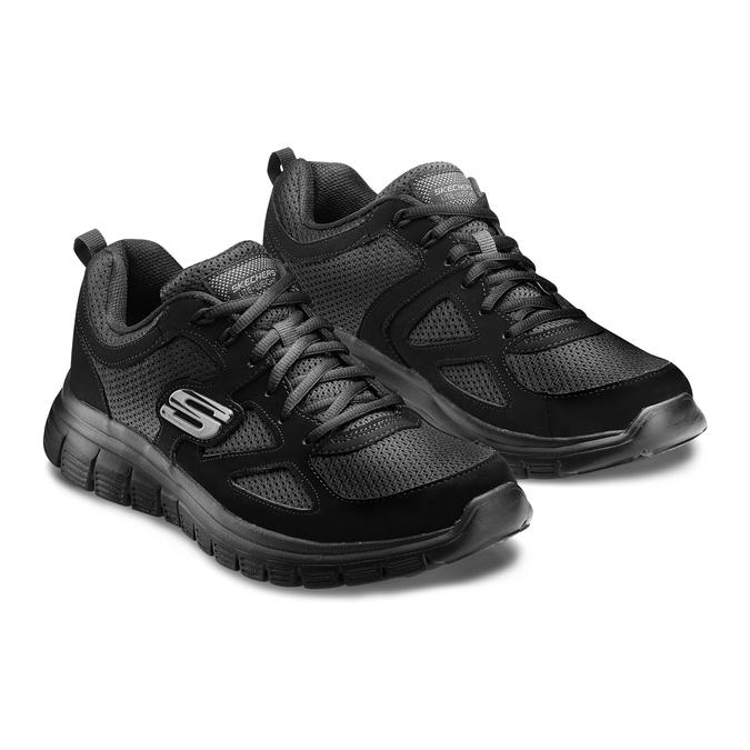 Men's shoes, Noir, 809-6805 - 16